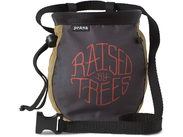 Prana Graphic Chalk Bag with Belt woodland raised by
